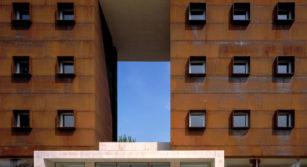 Edificio de la residencia universitaria