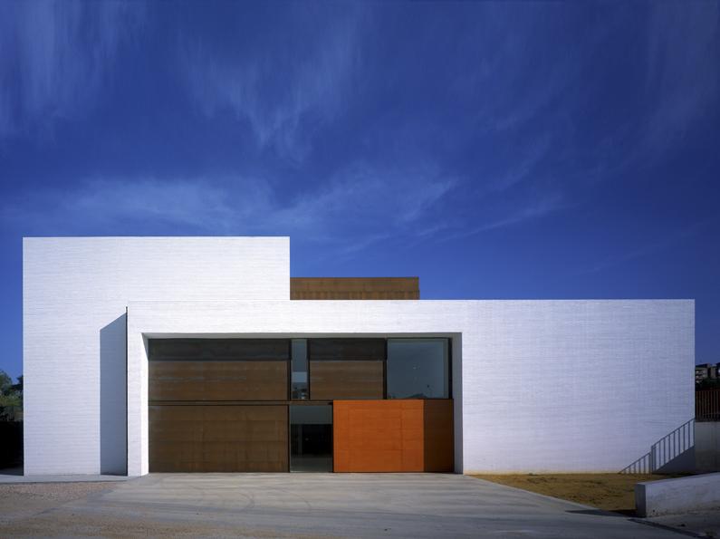 Fachada Módulo Alfonso X El Sabio arquitectura contemporanea