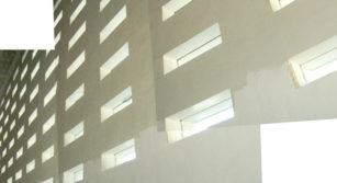 Huecos de luz en fachada