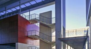 Escaleras recinto ferial talavera