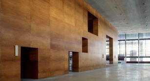 Fachada de madera